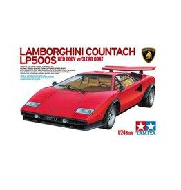 Tamiya Tamiya 1/24 Lamborghini Countach LP500S Scaled Plastic Model Kit