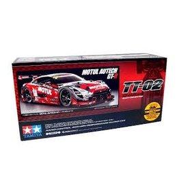 Tamiya Tamiya 1/10 TT-02 Motul Autech GT-R Electric On Road RC Car Kit