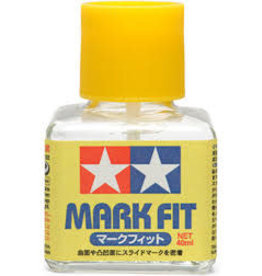 Tamiya Tamiya Mark Fit Decal Softener & Adhesive 40ml