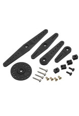 Hitec Hitec H25t Heavy Duty Horn And Hardware Set For Airplane