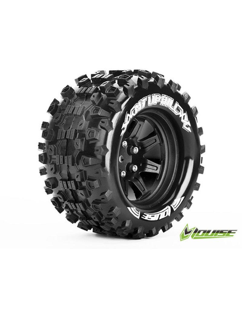 Louise MT-Uphill Tyre On Black Rim 0 Offset
