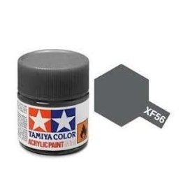 Tamiya Tamiya XF-56 Metallic Grey Flat Acrylic Paint 10ml