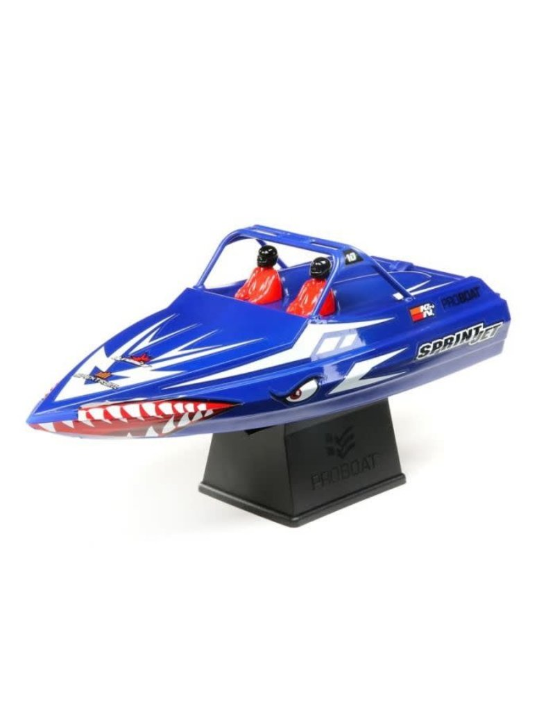 "Proboat Pro Boat Sprintjet 9"" Self-Righting Jet Boat Brushed RTR, Blue"