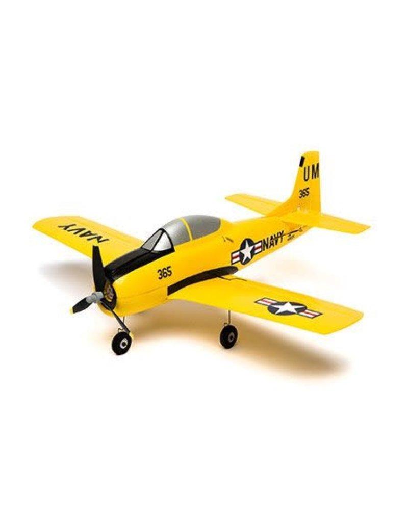 Hobbyzone HobbyZone T-28 Trojan S RC Plane, SAFE Technology, BNF Basic
