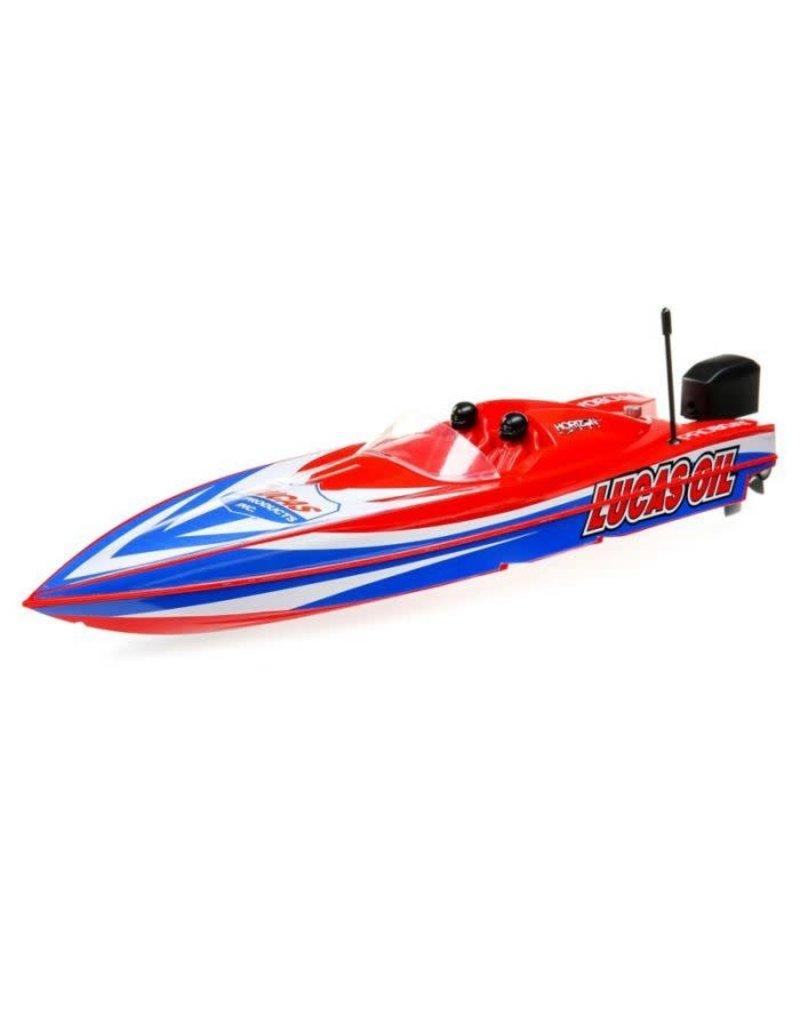Proboat Pro Boat 17 inch Power Boat Racer Deep-V, Lucas Oil, RTR