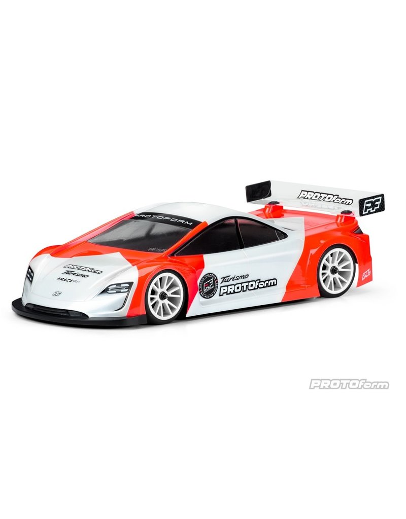 Protoform Protoform Turismo 190mm Light Weight Clear Touring Car Body