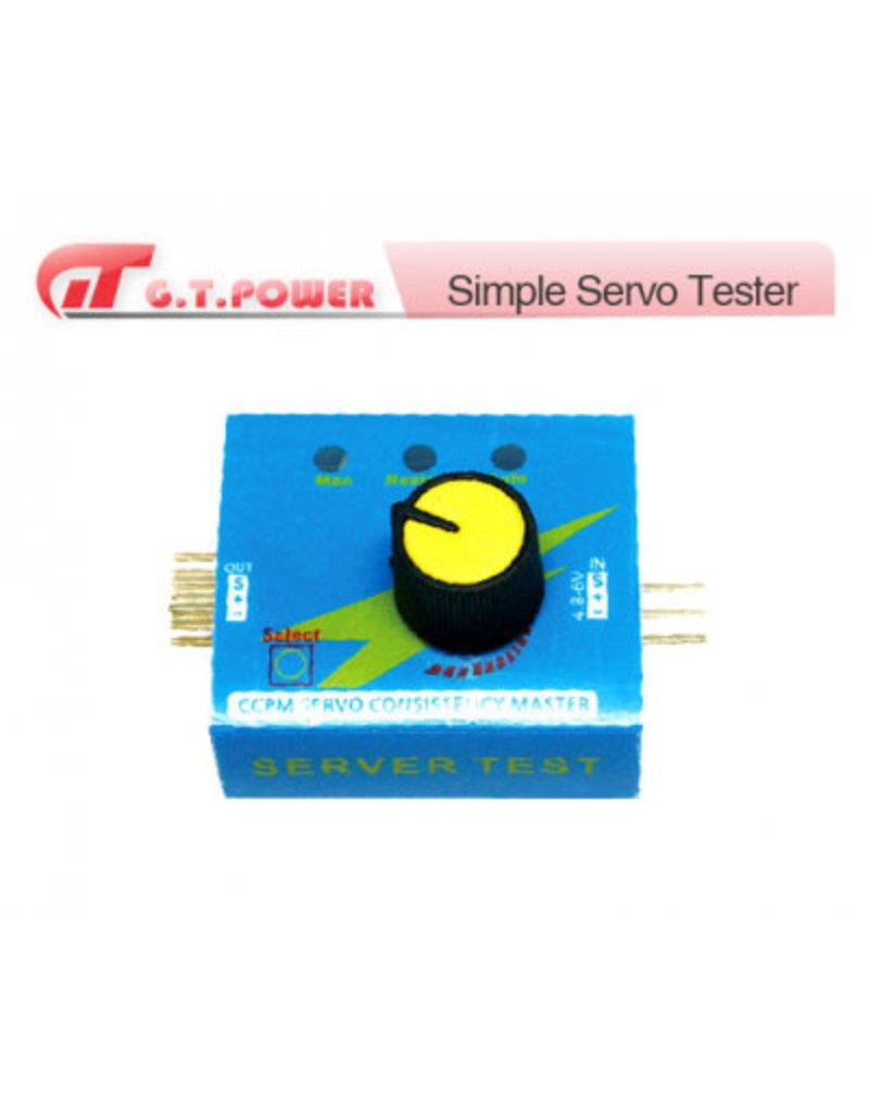 GT Power Simple Servo Tester