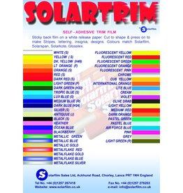Solarfilm Solartrim Fluro Red