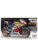Tamiya Tamiya 1/12 Repsol Honda RC213V 14 Motorcycle Plastic Model Kit