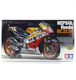 Tamiya Tamiya 1/12 Repsol Honda RC213V 14 Motorcycle Plastic Model Kit