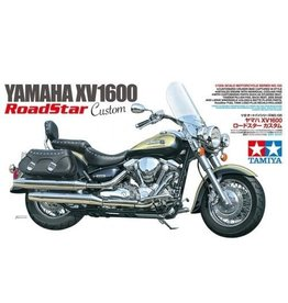 Tamiya Tamiya 1/12 Yamaha XV1600 Road Star Customer Motorcycle Plastic Model Kit