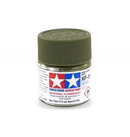 Tamiya Tamiya XF-81 Dark Green 2 (RAF) Flat Acrylic Paint 10ml