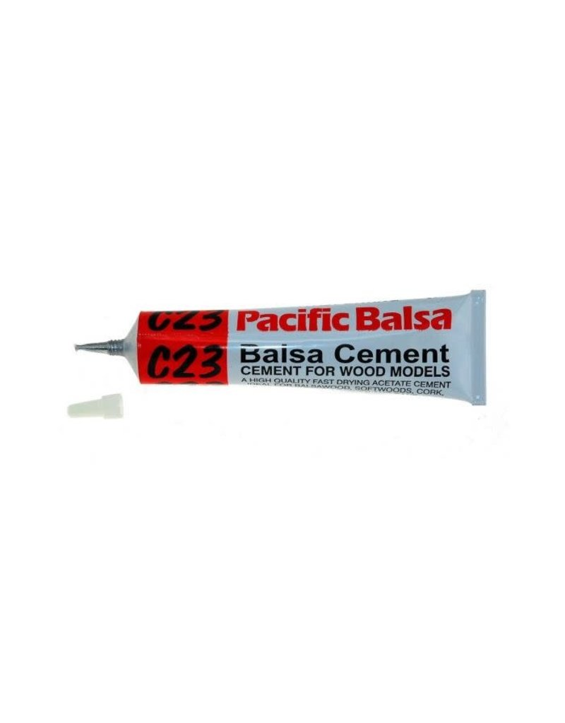 Pacific Balsa C23 Balsa Cement in 50ml Tube
