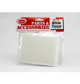Guillows Guillows White Tissue (2 pcs) 381 x 889mm, 00 GRADE