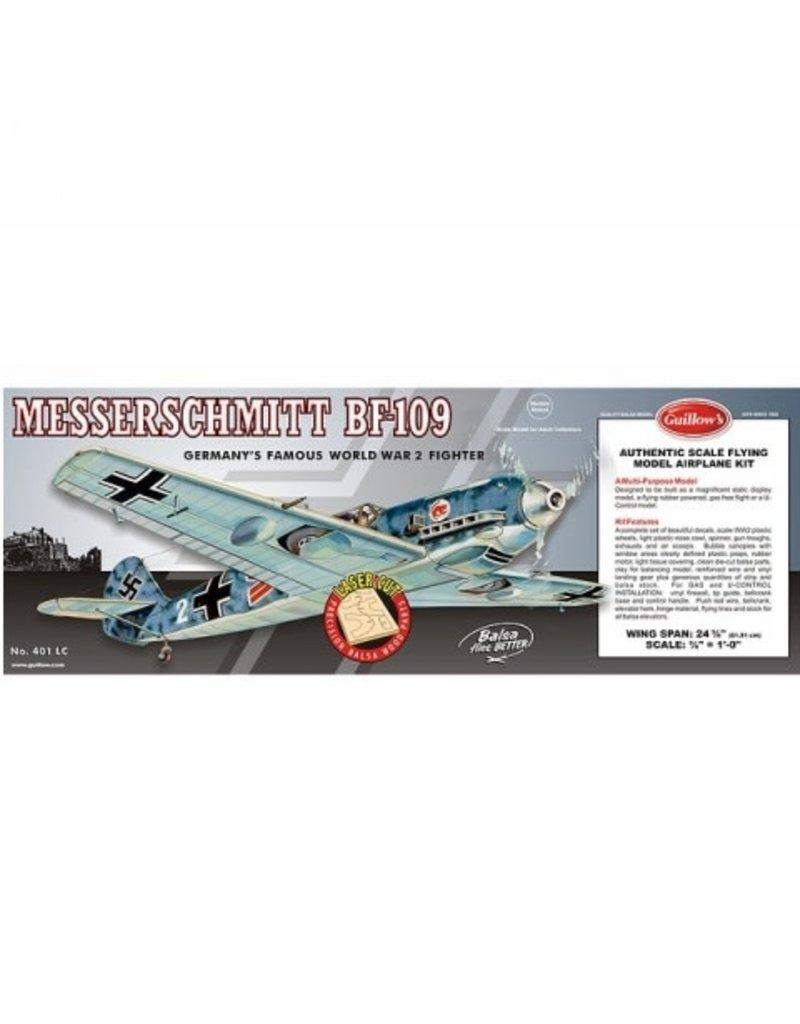 Guillows Guillows Messerschmitt BF-109 Laser Cut Model Kit