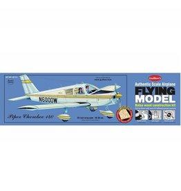 Guillows Guillows Piper Cherokee 140 Flying Model Kit