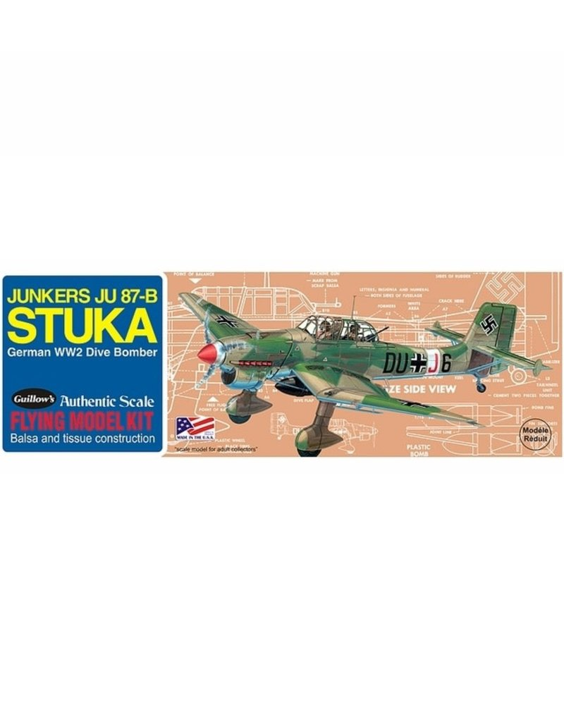Guillows JUNKER JU-87B STUKA KIT