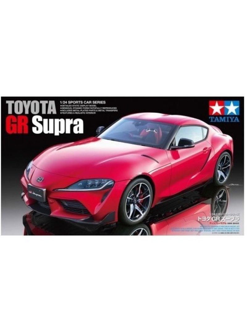 Tamiya Tamiya 1/24 Toyota GR Supra Scaled Plastic Model Kit