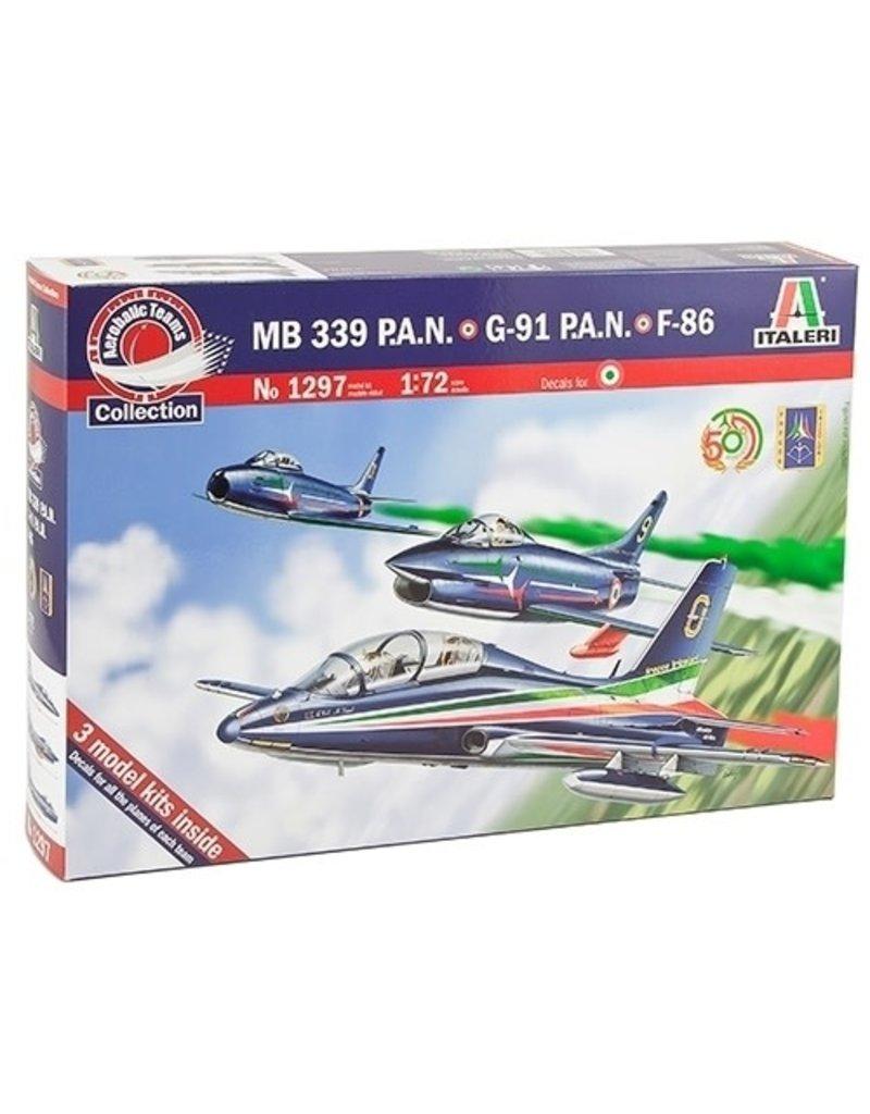 Italeri Italeri 1297 1/72 MB 339 PAN Anniversary
