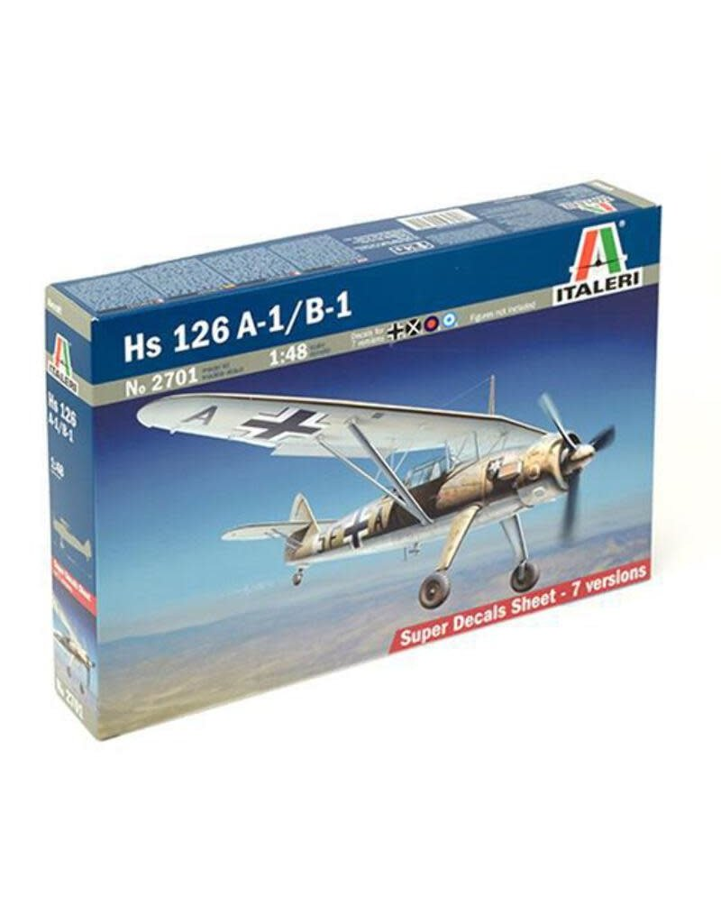 Italeri Italeri 2701 1/48 Henschel HS 126 A-1/B-1