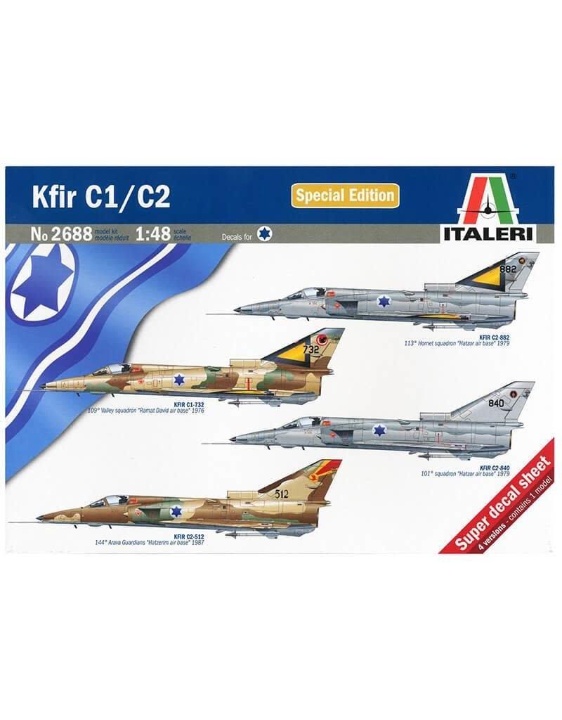 Italeri 1/48 KFIR C1/C2