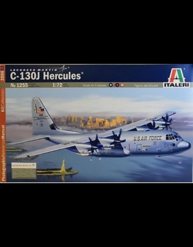 Italeri 1/72 C130J HERCULES + PIC BOOK