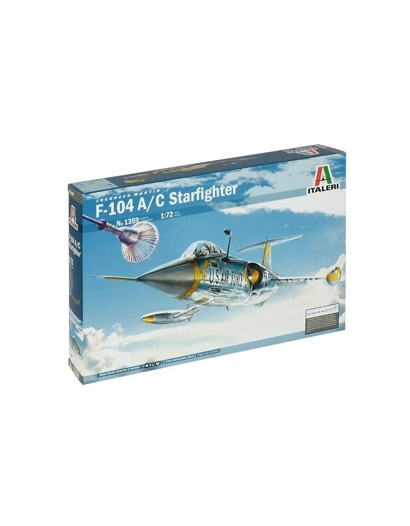 Italeri F-104C STARFIGHTER