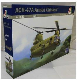 Italeri HELI ACH47A CHINOOK GUNSHIP