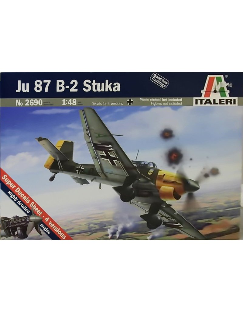 Italeri JU87B2 STUKA