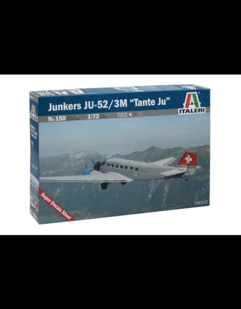 """Italeri Italeri 150 1/72 Junkers JU-52/3M """"Tante Ju"""""""