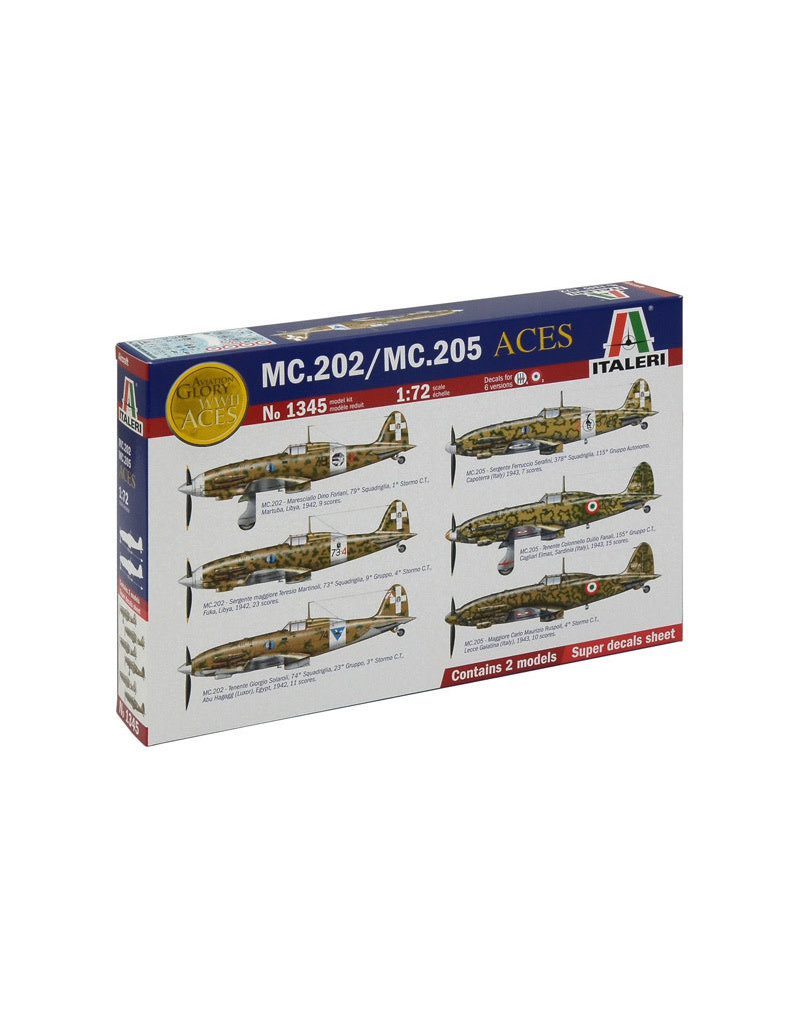 Italeri MC202/MC205 ITALIAN ACES
