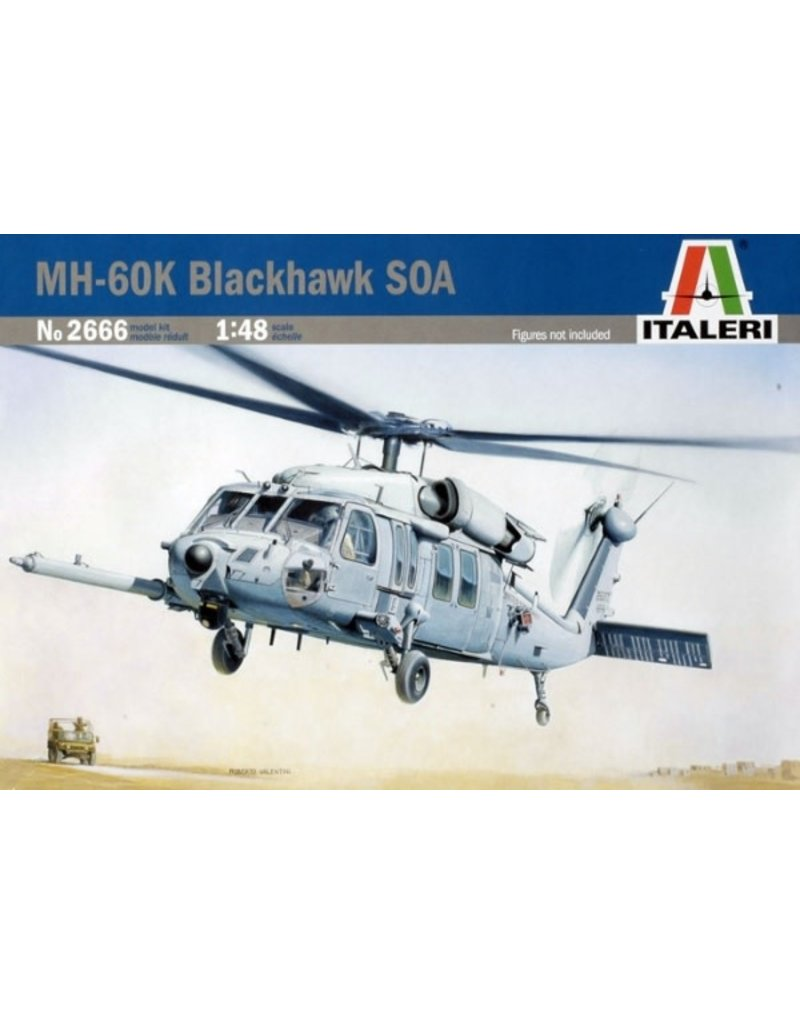Italeri MH60K BLACKHAWK SOA