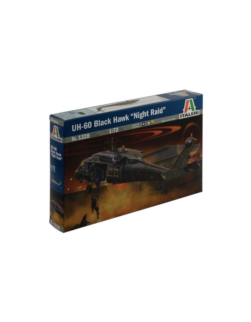 """Italeri Italeri 1328 1/72 UH-60 Black Hawk """"Night Raid"""""""