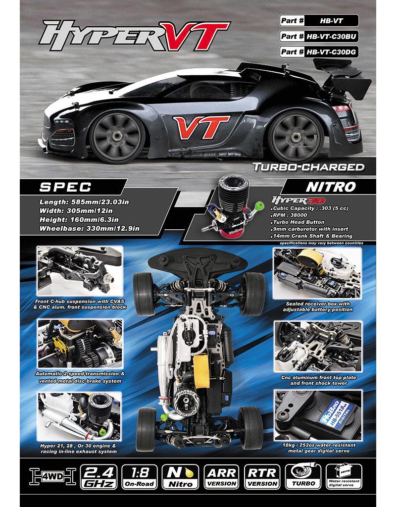 Hobao Hyper VT Nitro RTR w/.30