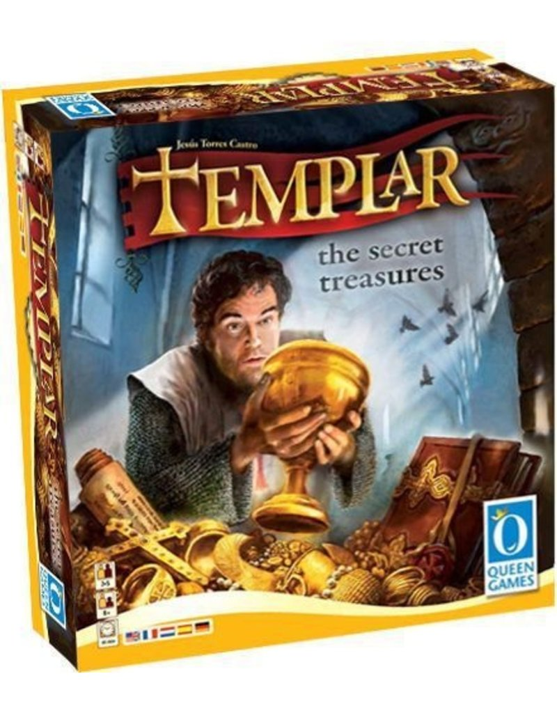 Queen Games Templar the Secret Treasures