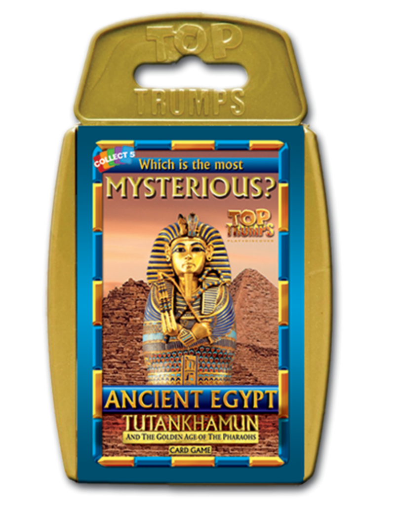 Winning  moves Top Trumps - Ancient Egypt