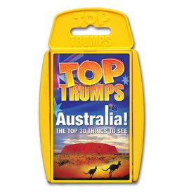 Winning  moves Top Trumps - Australia
