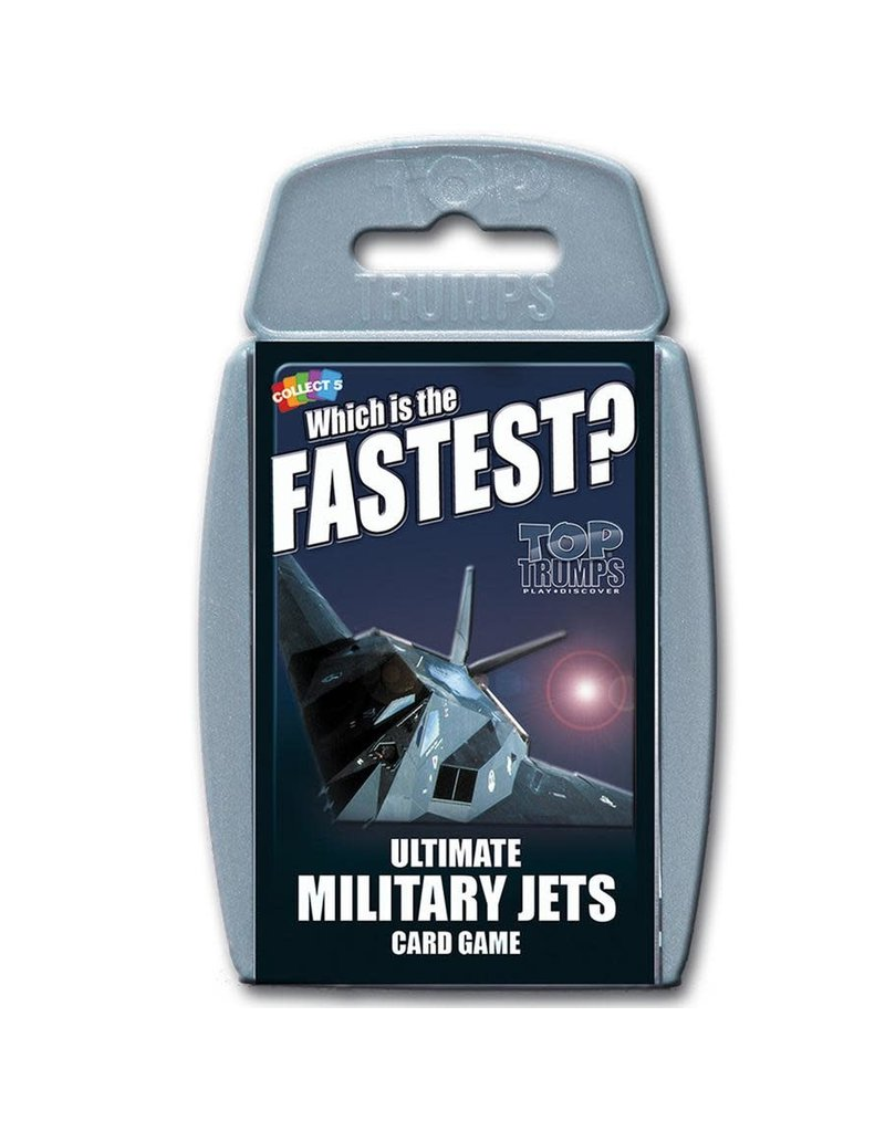 Winning  moves Top Trumps - Military Jets