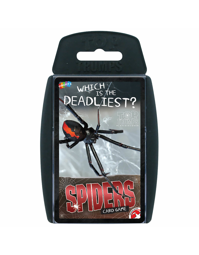 Winning  moves Top Trumps - Spiders