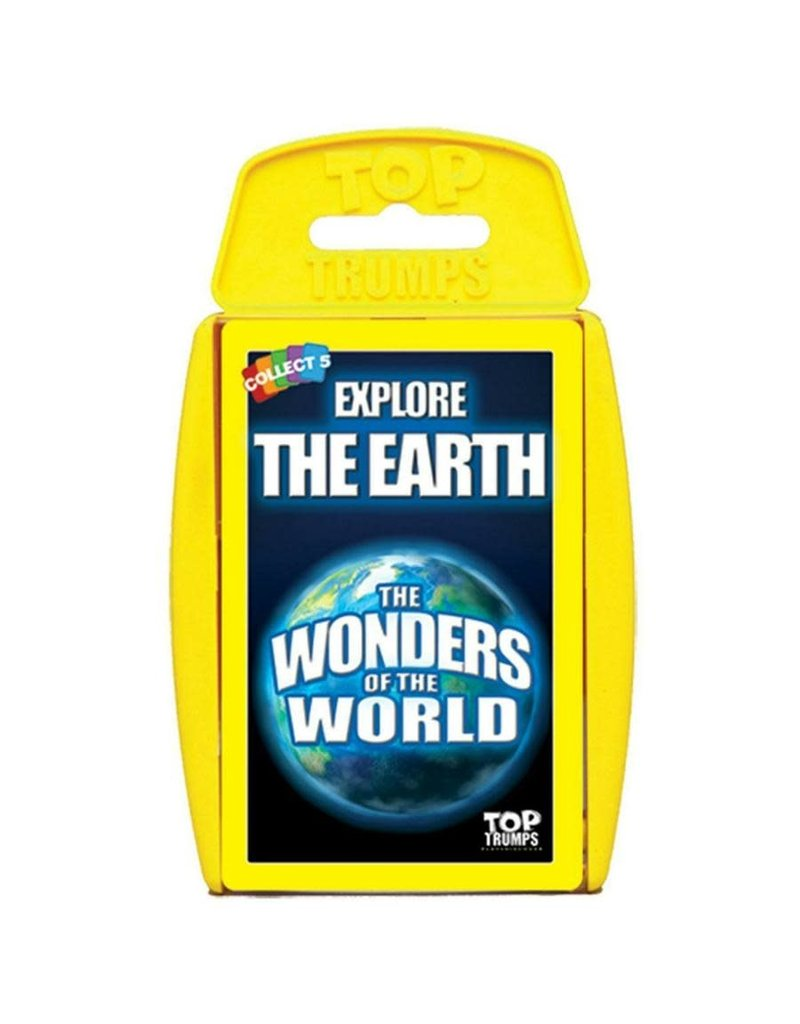 Winning  moves Top Trumps - Wonders of the World