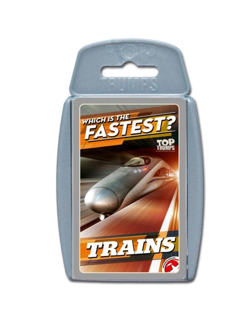 Winning  moves Top Trumps - Trains
