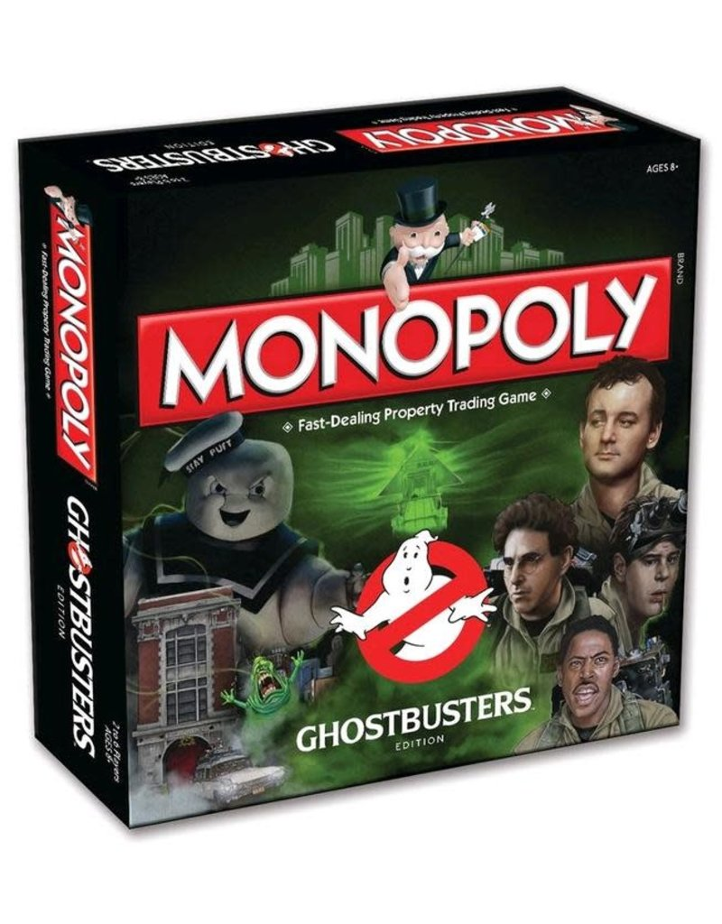 Winning  moves Monopoly - Ghostbusters