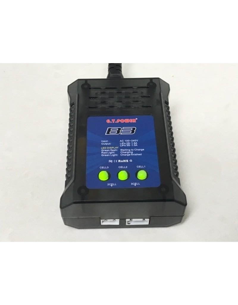 GT Power 240v lipo charger 2-3s