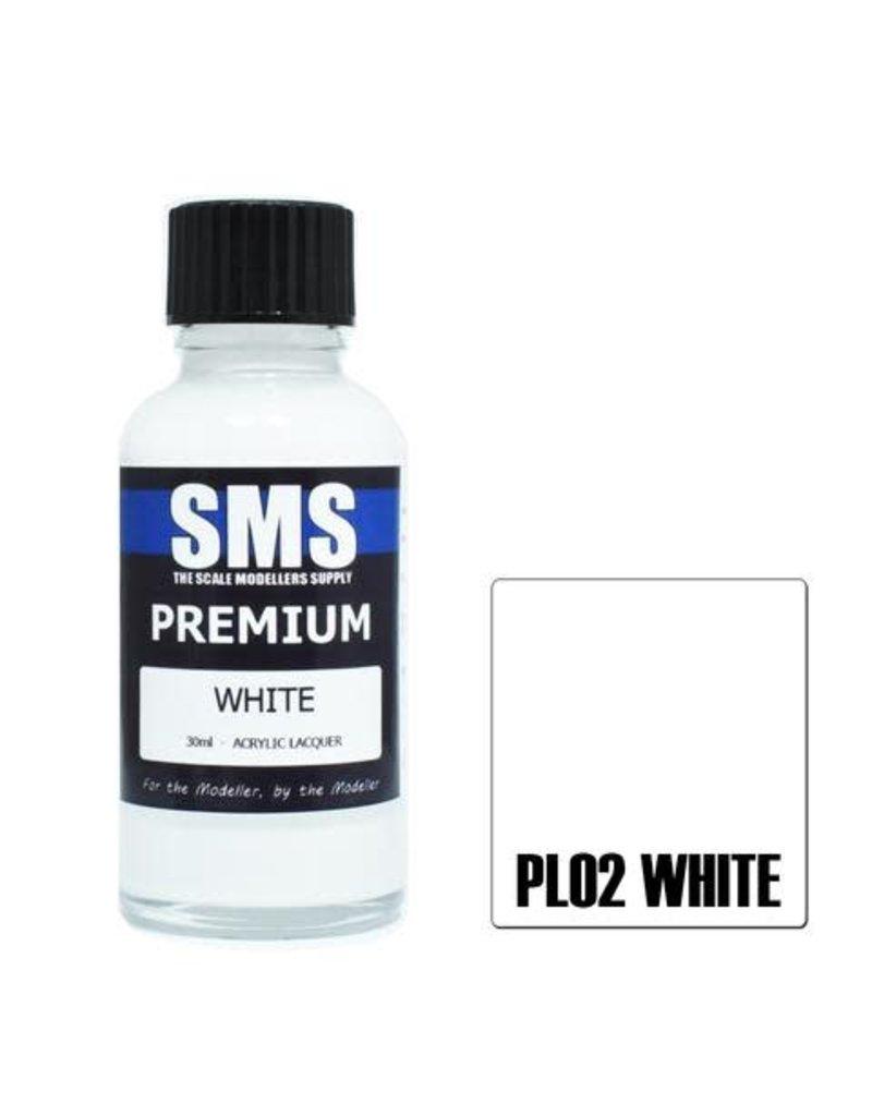 The Scale Modellers Supply Premium WHITE 30ml