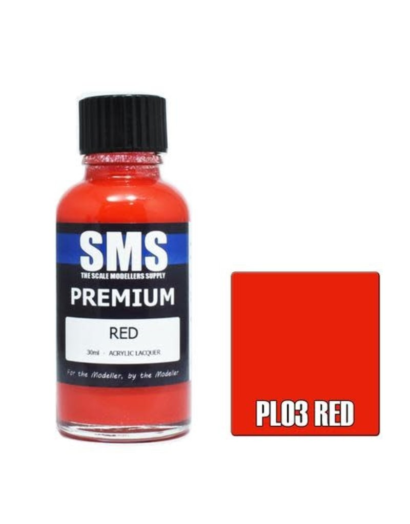 The Scale Modellers Supply Premium RED 30ml