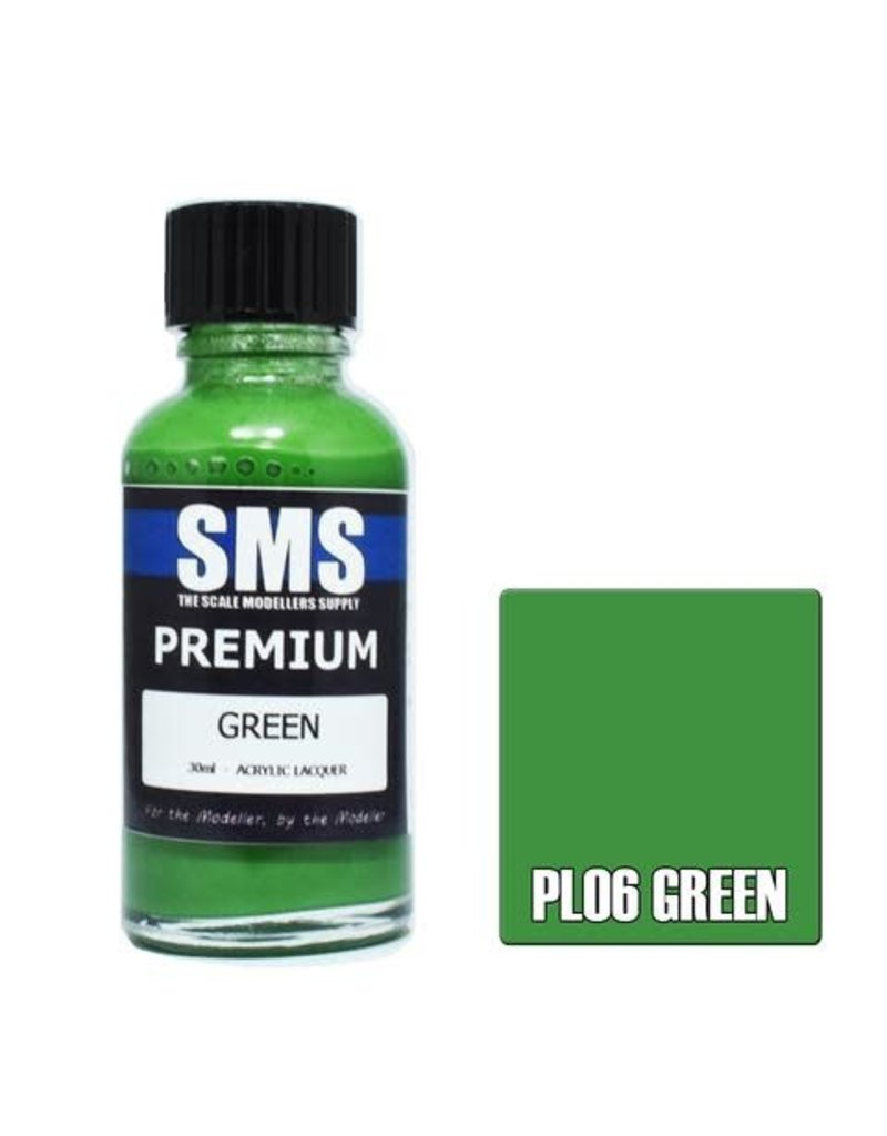 The Scale Modellers Supply Premium GREEN 30ml