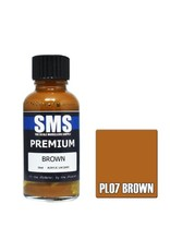 The Scale Modellers Supply Premium BROWN 30ml