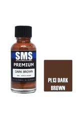 The Scale Modellers Supply Premium DARK BROWN 30ml