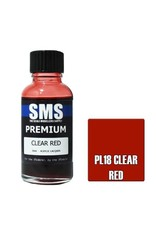The Scale Modellers Supply Premium CLEAR RED 30ml