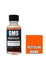 The Scale Modellers Supply Premium CLEAR ORANGE 30ml